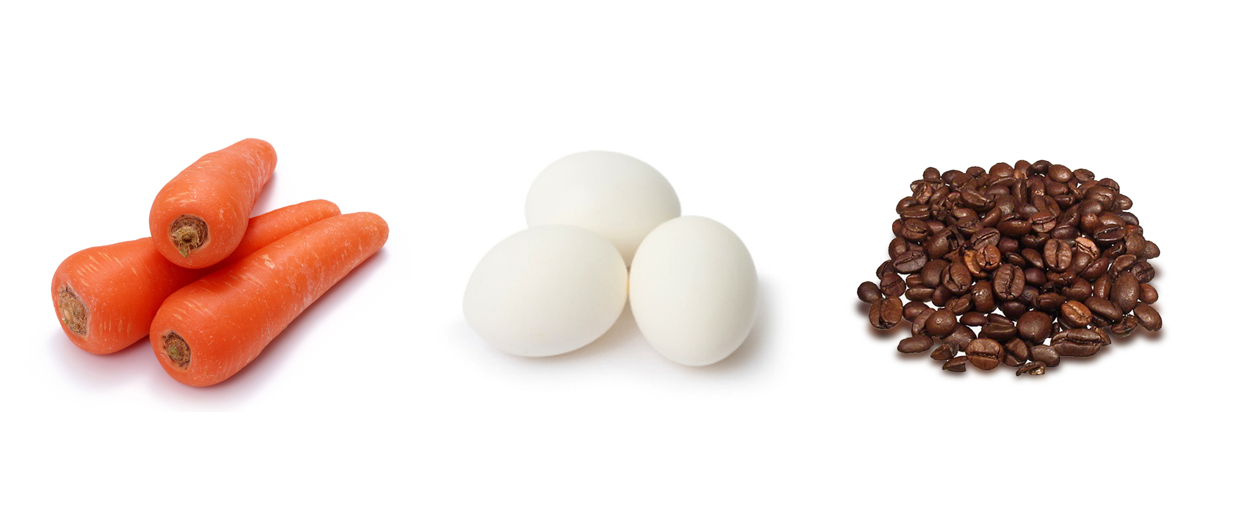 carrot egg and coffee bean essay By simon khayala, kenya in life, what matters most is how we react when faced with a situation as we begin the new year, i ask us to reflect on whether we are any of the above an egg, a potato, or a coffee bean.