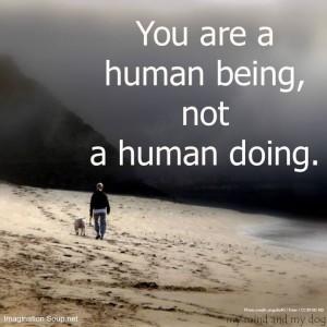 human doing
